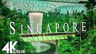 Singapur 4K  Música relajante junto con hermosos videos de la naturaleza