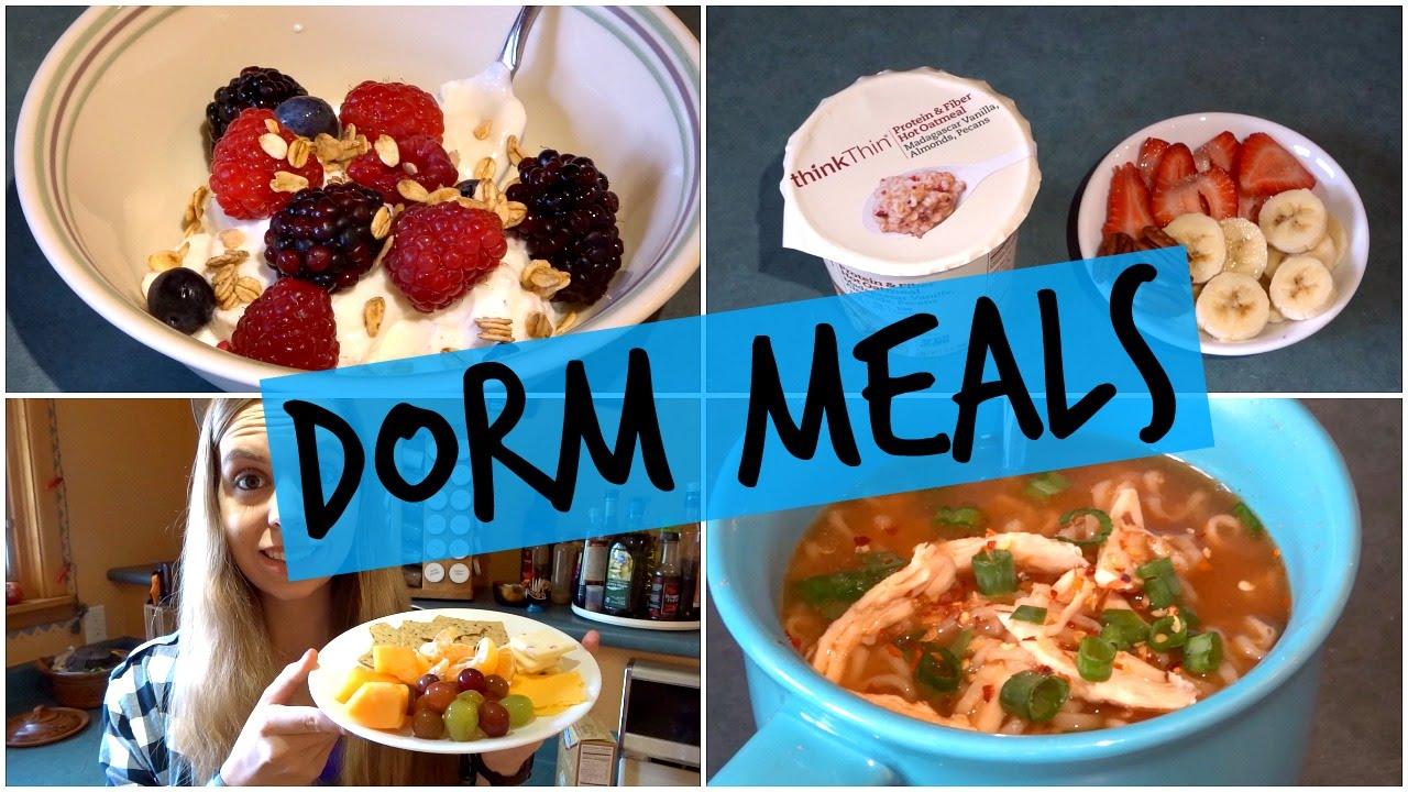 5 Easy College Dorm Meals