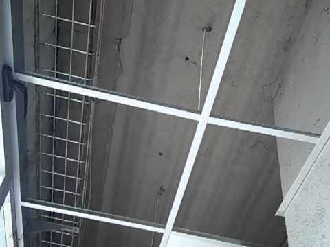 Montaje techo registrable youtube for Tipos de techos desmontables