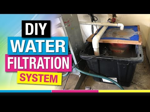 Cheap DIY Water Filtration System For Screen Printing Thats Affordable