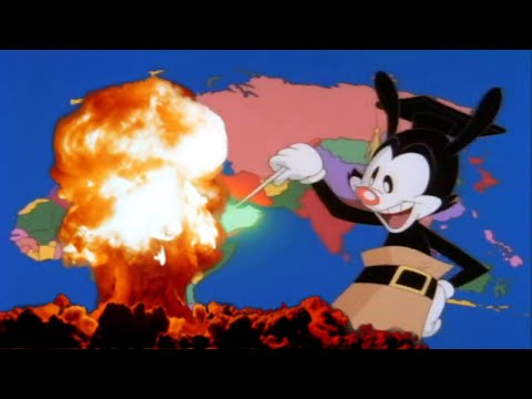 Yakko's world but countries that were bombed by the USA after the fall of germany are bombed