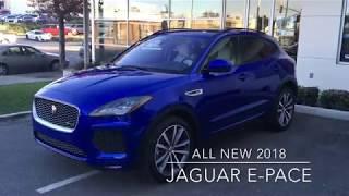Cole European | All New 2018 Jaguar E-PACE R-DYNAMIC HSE P300 AWD