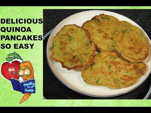 Gluten-free Quinoa Pancakes