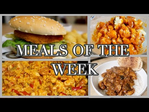 MEALS OF THE WEEK ~ FAMILY OF FIVE ~ #20