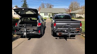 Thule T2 Pro XT vs Kuat NV 2.0 Tray Bike Racks - FULL Comparison