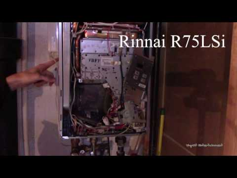 HOW TO | Servicing a Rinnai Tankless Water Heater |  Exhaust Code Headache