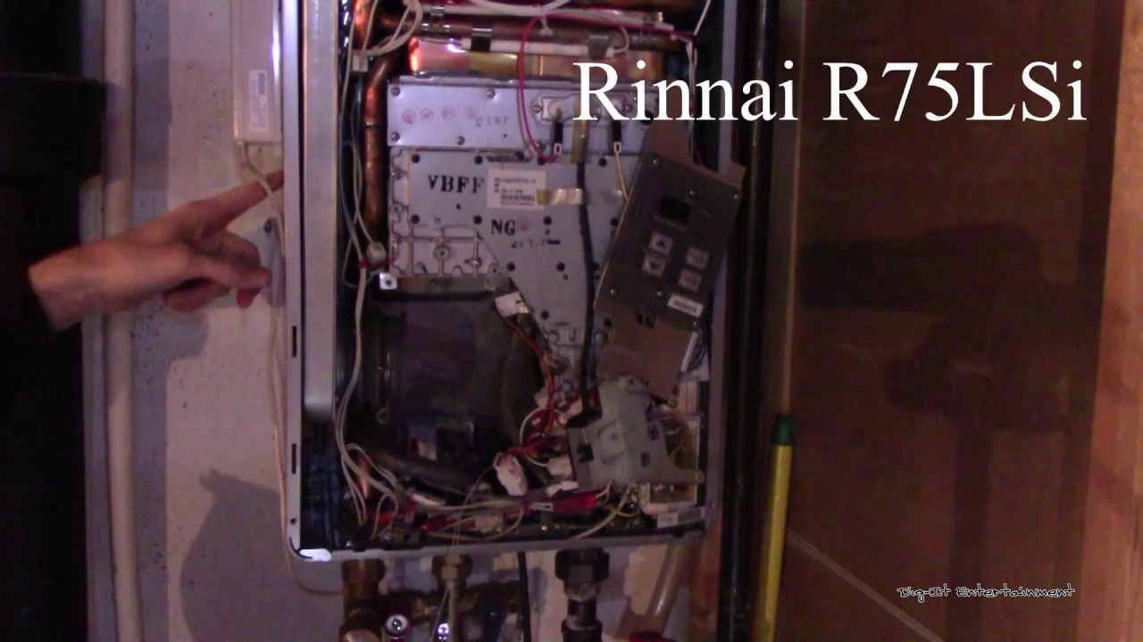 how to servicing a rinnai tankless water heater exhaust code headache  [ 1280 x 720 Pixel ]