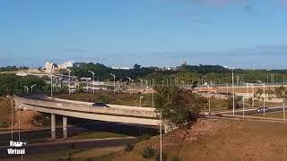 Trânsito, Metrô, Aeroporto - Vista da Varanda do Salvador Norte Shopping (17/03/2018)