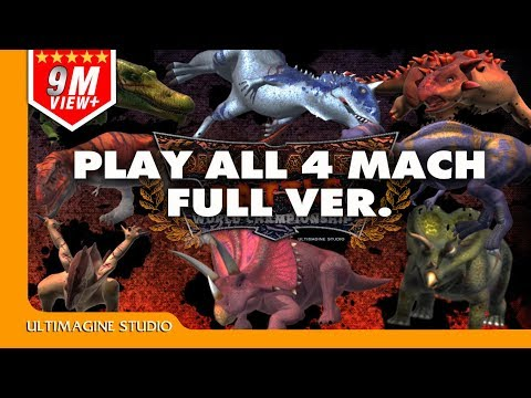 Dinosaurs Battle 4 Match Full ver.#3