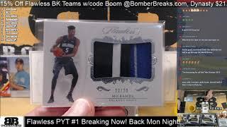 2018 19 Flawless Basketball Pick Your Team #1 Case Break 11 8 19