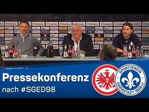 Darmstadt 98 | Pressekonferenz nach dem Spiel bei Eintracht Frankfurt