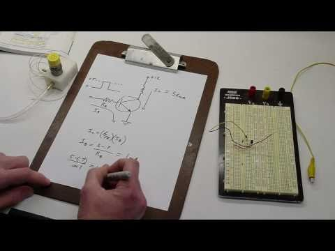 Tutorial: How to design a transistor circuit that controls low-power devices