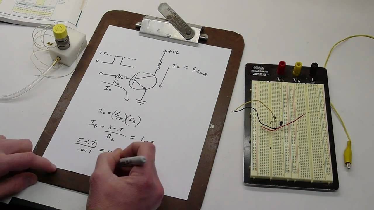 Tutorial How To Design A Transistor Circuit That Controls