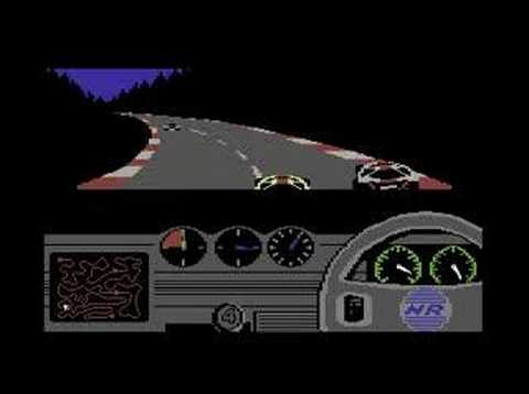 C64 Longplay - Night Racer