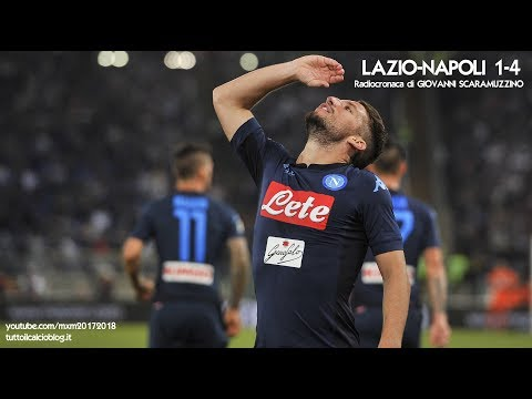 LAZIO-NAPOLI 1-4 - Radiocronaca di Giovanni Scaramuzzino (20/9/2017) da Rai Radio 1