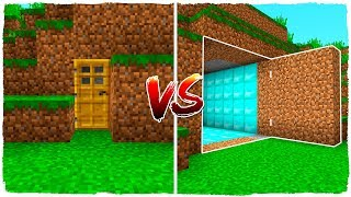 MINECRAFT - Base secreta NOOB vs base secreta PRO con los Almendruquis!