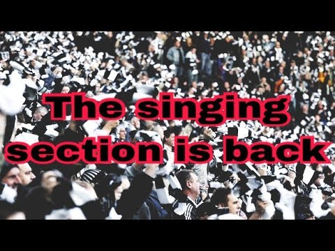 The singing section is back | Let's hear you roar!