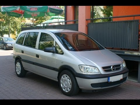 opel zafira 2003 2 0 dti diesel 7 osobowy youtube. Black Bedroom Furniture Sets. Home Design Ideas