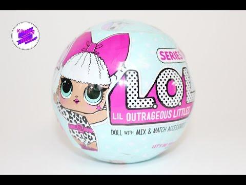 L.O.L Surprise! Кукла-сюрприз в шарике ЛОЛ.