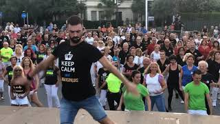 BALLI DI GRUPPO FESTIVAL 2019 - Piazza della Libertà PESARO    BAILA CON LUIS