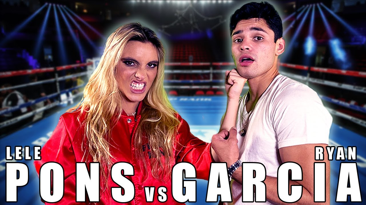 Will @Lele Pons Be The Next YouTube Boxing Champion? | Ryan Garcia Vlogs