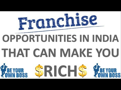 Franchise Business Opportunities In India That Can Make You Rich