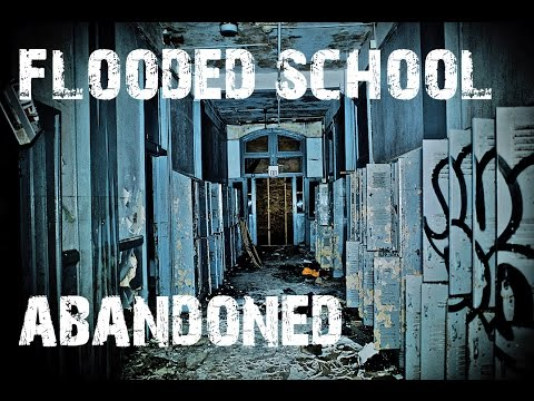 ABANDONED HIGH SCHOOL FLOODED - Hurricane Katrina - HAUNTED?
