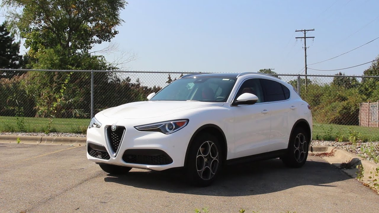 a true italian luxury crossover 2018 alfa romeo stelvio review youtube. Black Bedroom Furniture Sets. Home Design Ideas