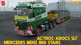 MERCEDES BENZ BIG STARS ACTROS/ACROS SLT [1.32x] - SiMoN3 ETS2