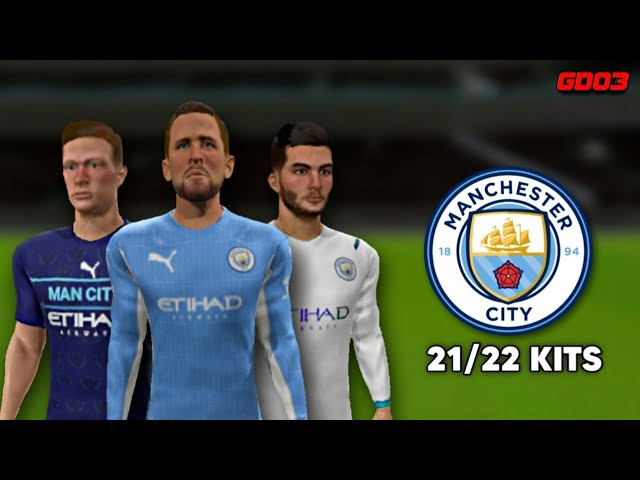 Manchester City 21 22 Kits Dls 21 Youtube