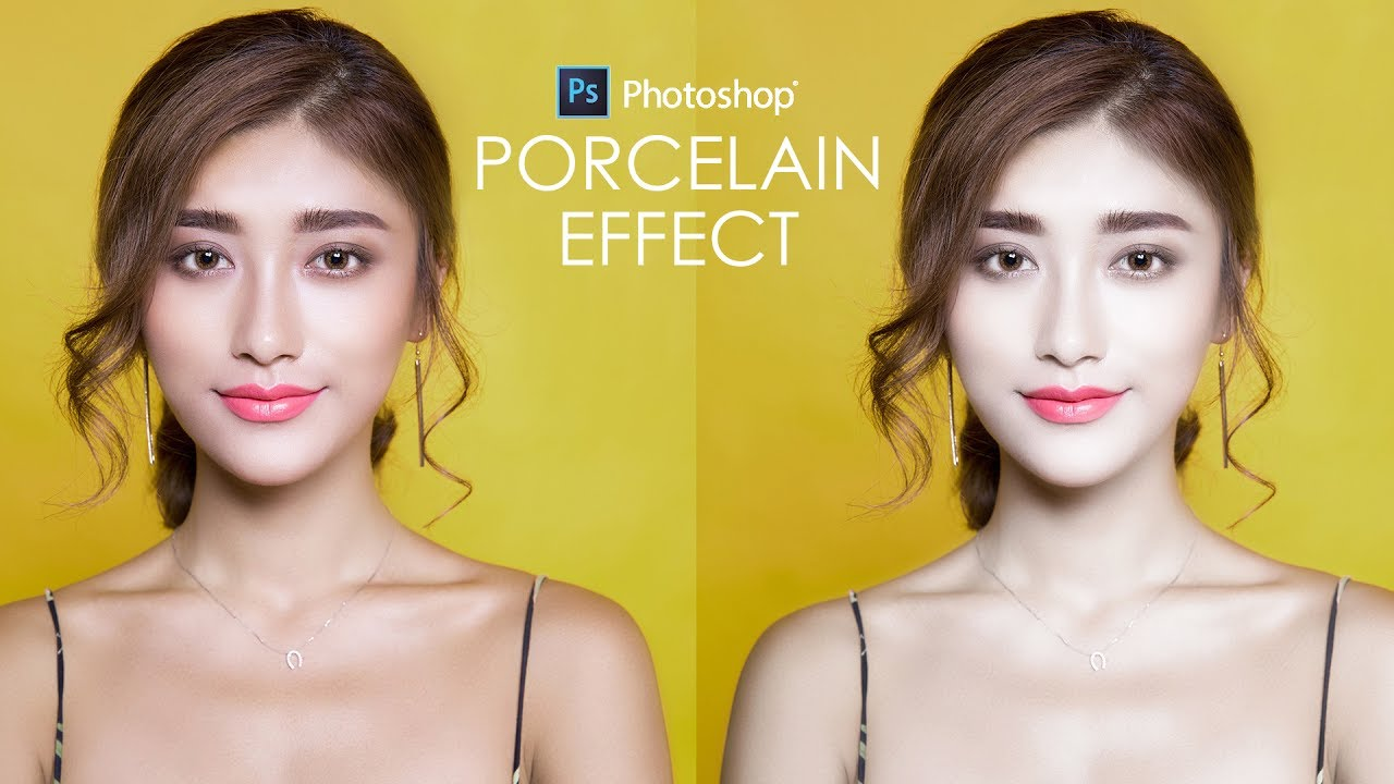 how to make white skin in photoshop