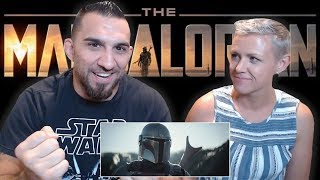The Mandalorian | Official Trailer REACTION!!