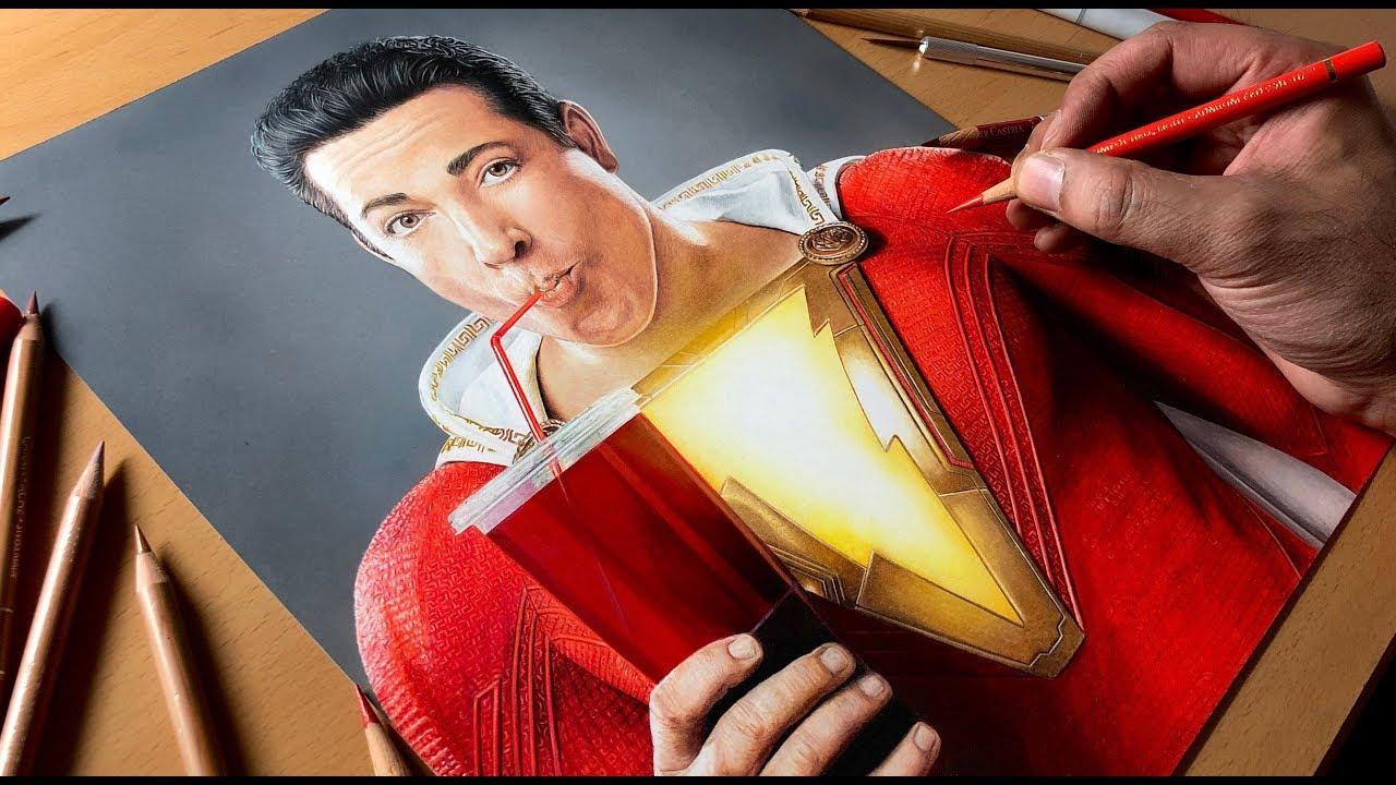 Drawings Realistic Superhero