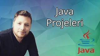 Java Programlama Dersleri  2  - Java projeleri, Java Dosyaları ve Ekrana Yazı Yazdırma