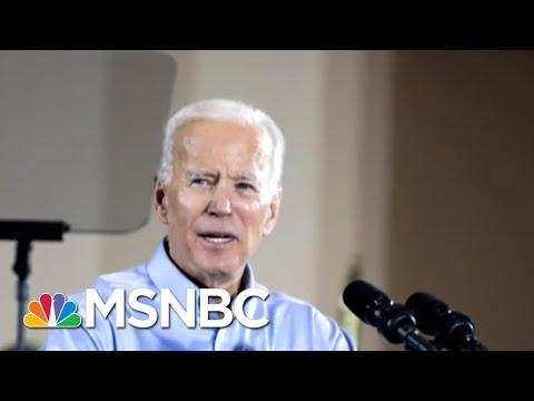 Joe Biden's Boost In Polls Prompts Response From President Donald Trump | Velshi & Ruhle | MSNBC