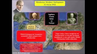 Savaşa Son Veren Belge; Mudanya Ateşkes Antlaşması