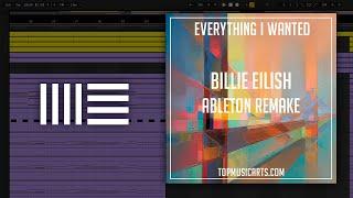 Billie Eilish - Everything I wanted Ableton Remake Project