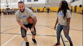 COUPLES 1on1 BASKETBALL GOES WRONG (hilarious)