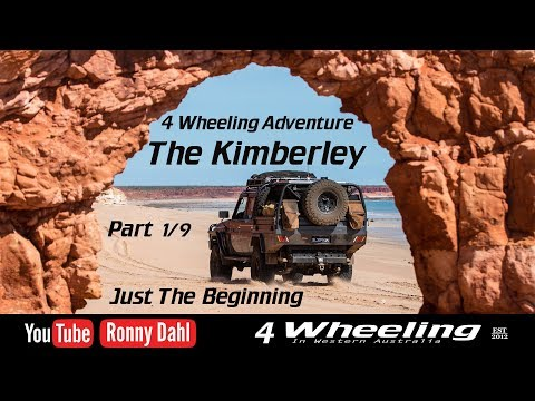 4 Wheeling Adventure The Kimberley, part 1/9