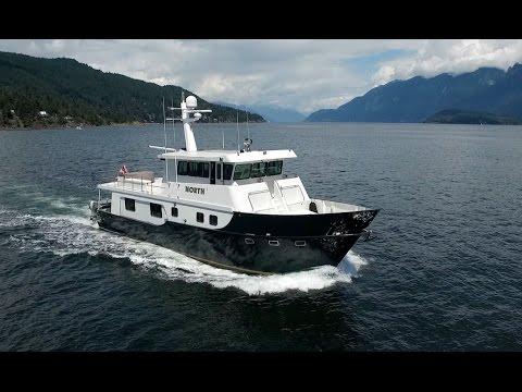 2002 72 Ft Darling Yachts Custom Aluminum Calibre Yachts YouTube