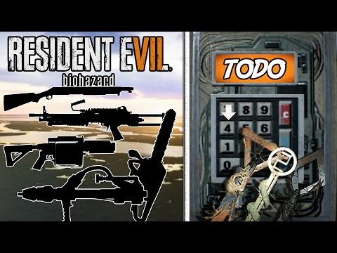 TODOS LOS PUZZLES, ARMAS Y MÁS | Resident Evil 7 Guía