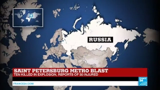 BREAKING: St. Petersburg Metro Blasts