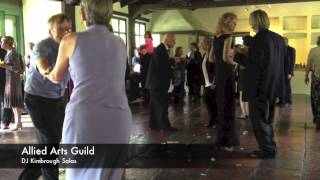 Allied Arts Guild Menlo Park Wedding Reception
