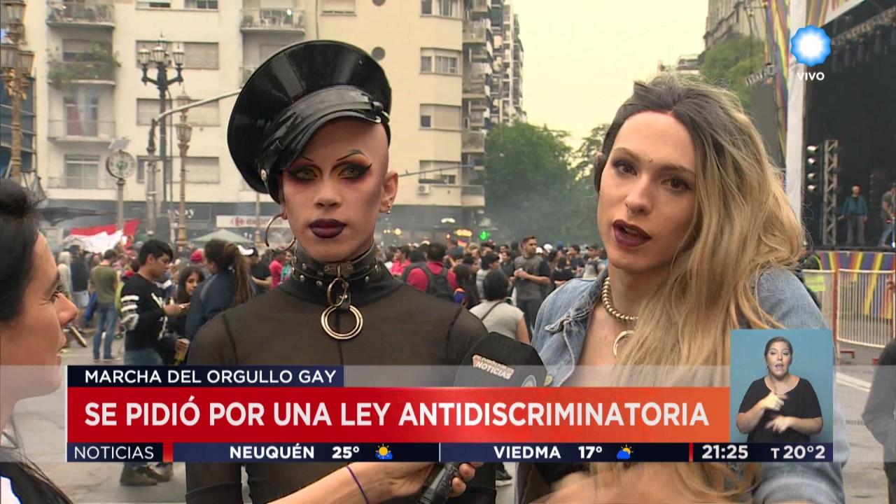 Tv Publica Noticias Marcha Del Orgullo Gay Youtube