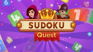 Sudoku Quest- Sudoku with a Twist!
