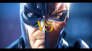 Batman vs Deathstroke-Batman Arkham Origins