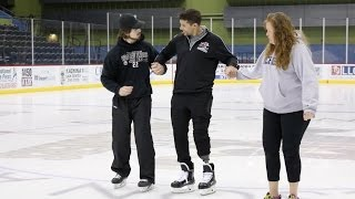 Tucson Roadrunners captain Craig Cunningham skates for first time since heart attack, amputation