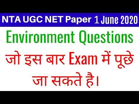 (Mock TEST 01) NTA UGC NET Paper 1 June 2020 (People/ Development & Environment December 2019 Ques.)
