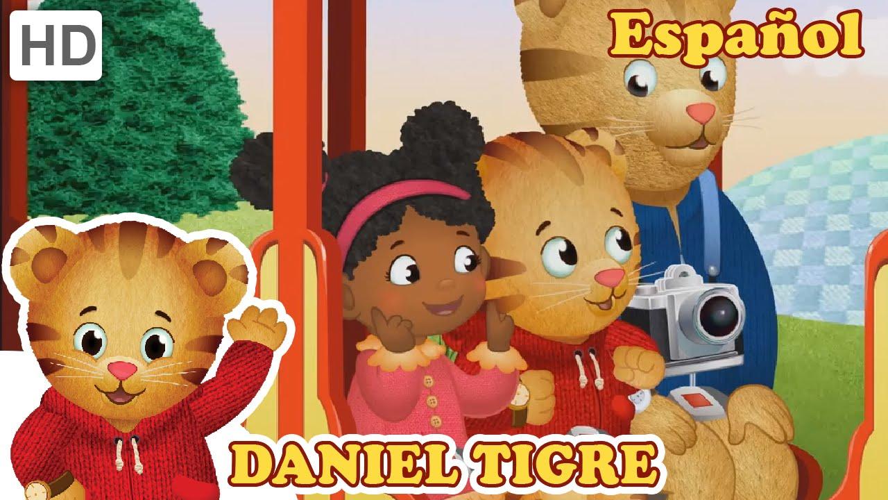 Daniel Tigre En Español  Un Viaje Al Jardín Encantado