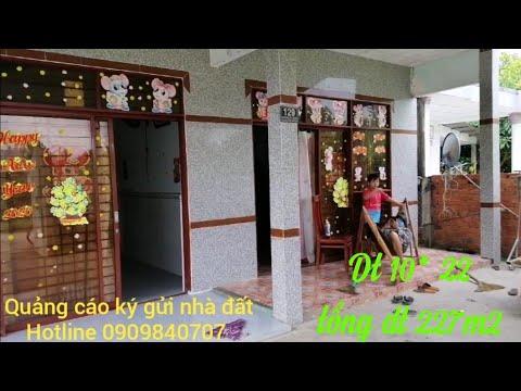 Mua bán nhà đất trà vinh nhà gần chợ hoà lợi ấp Bà Trầm xã Hưng Mỹ giá bán 600tr dt 10*22 tổng 227m2